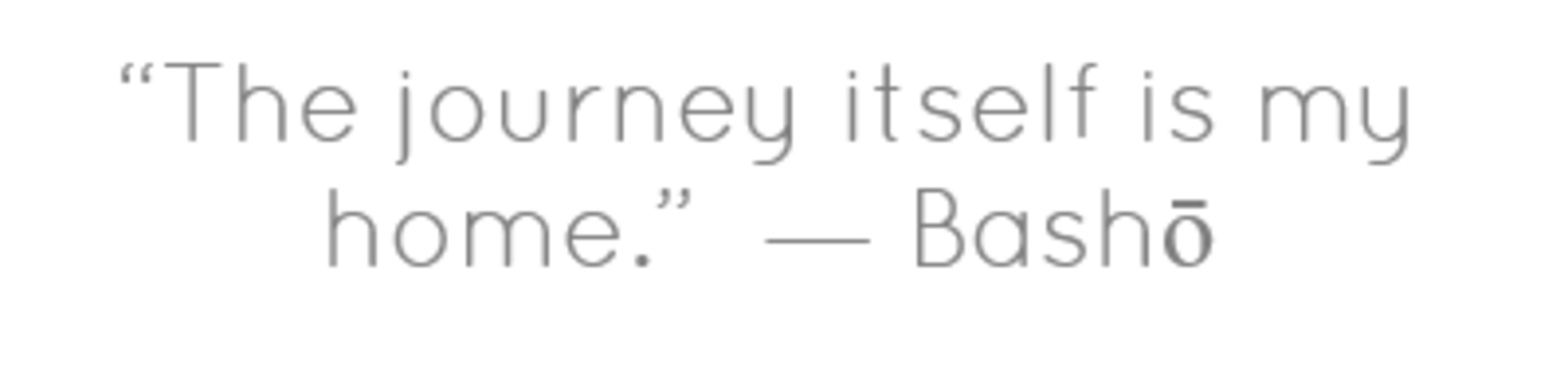 paul m worley eng essay comparative analysis the journey itself is my home basho